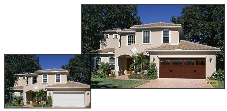 Use our design tools to choose the perfect new garage door for your home.